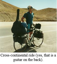 Cross-continental ride, 3